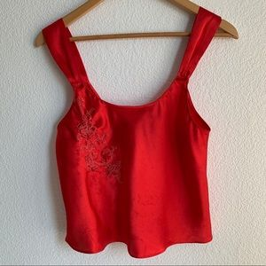 Inner Most Red Camisole